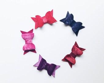Velvet bow, Velvet Hair bows for Girls, Easter Photo Prop, Bow Hair Clip, Toddler Hair Accessories, Flower Girl Headband, Baby Shower Gift