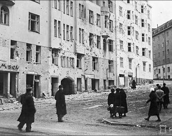 Poster, Many Sizes Available; Helsinki Bombardment 1939 Sa Kuvat Fu2008