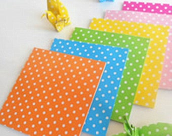 48 Sheets Origami Paper Crane Folding Paper 6x6cm-9361