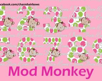 Mod monkey Transfer sheet iron on