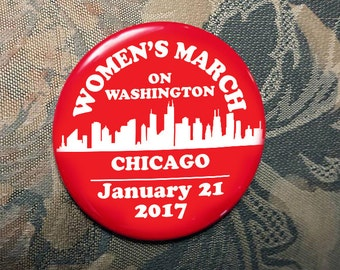 WOMEN'S MARCH on Washington Chicago supporters January 21 2017 election trump clinton