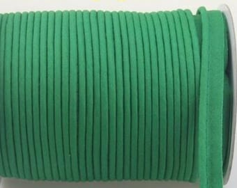 Green piping by the yard