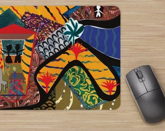 Mouse Pads - Too Much Order Series from artist's original art.