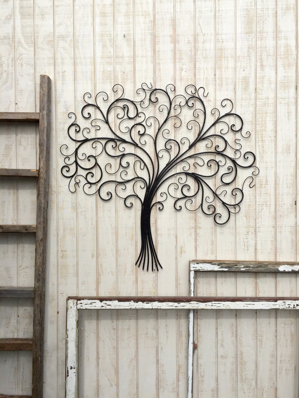 Large Metal Wall Art Metal Wall Decor Tree Wall Art Metal