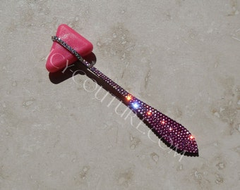 Pink Bling MEDICAL HAMMER with Swarovski Crystals
