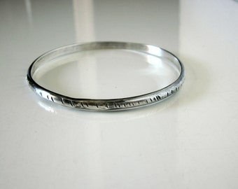 Bella's Medium Textured Bangle