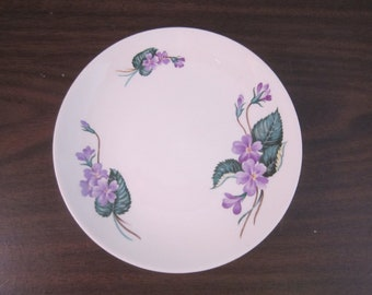 Homer-Laughlin Bread and Butter Plate Rhythm Violets W152
