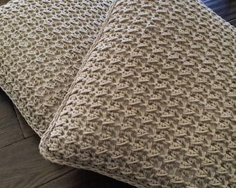 Handmade Crochet Pillows