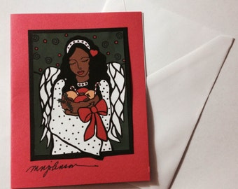Simple Gifts Christmas Cards (3-pack)