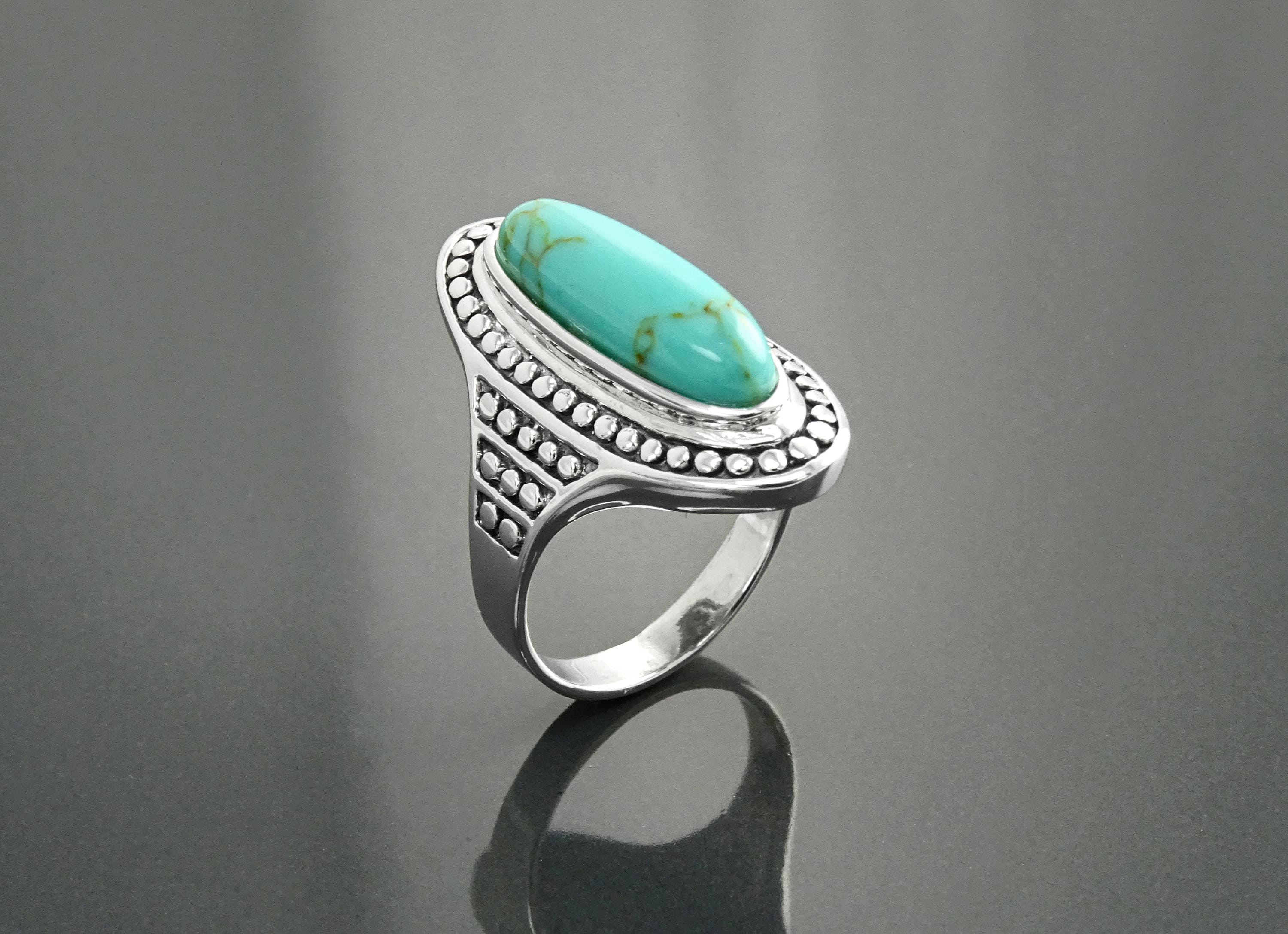 collections diamond stone nine asterisk ring oakland rings for boutique crown jewelry turquoise acanthus by