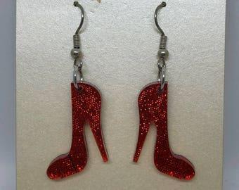 High Heel Shoe Set Earrings,Jewellery,Womens Fashion,Dangle  Drop Earrings,Acrylic