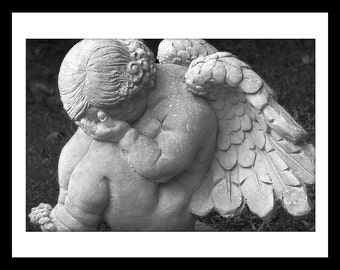 Cherub, Afton Villa Cemetery, St. Francisville, Louisiana - Note Cards (8)