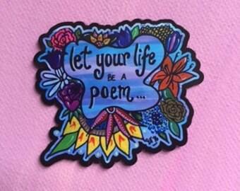 Be a Poem Magnet