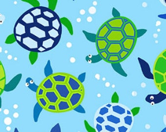 Sea Turtles From Timeless Treasure's Coastal & Beach Collection-C6425