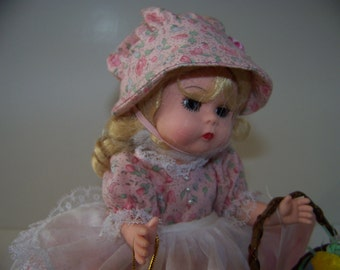 Easter of yesteryear Madame Alexander 8 in doll