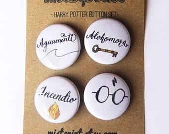 Harry Potter Pinback Button Set (Series 3)