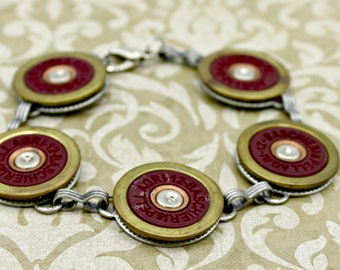 Annie Get Your Gun Spent Bullet Shotgun Shell Bracelet