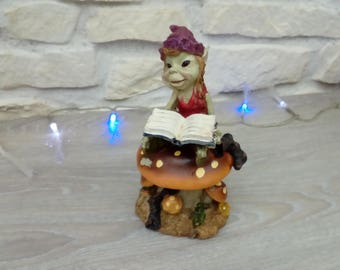 GNOME Pixie woodland ornament decoration