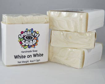 White on White - Handmade Soap