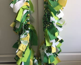 St. Patrick's Day 4ft fabric garland