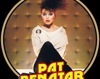 Pat Benatar Custom Image t-shirt