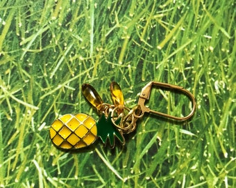 Stitch Markers - Pineapple