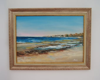 "Oil painting ""Kopli Bay"", framed, ready to hang"