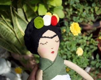 Handmade Frida Kahlo Doll