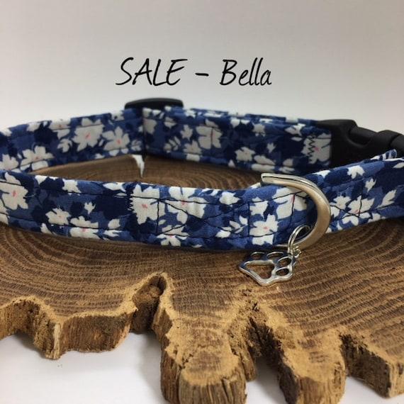 Sale Dog Collar, Bella, Floral Dog Collar, Pretty Dog Collar, Luxury Dog Collar, Dog Collar Sale