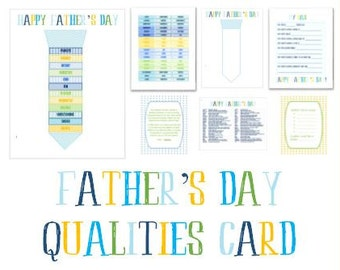 Activity Days Father's Day Card