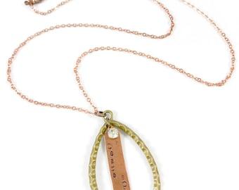 Tears Speak, Teardrop Pendant Necklace, Mothers Day Memorial