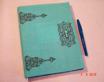 Vintage Hinges and Lock Composition Notebook Cover