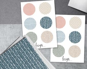 Circles - Blush Colors