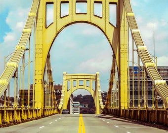 Bridges of Pittsburgh, Pennsylvania, Photography Print