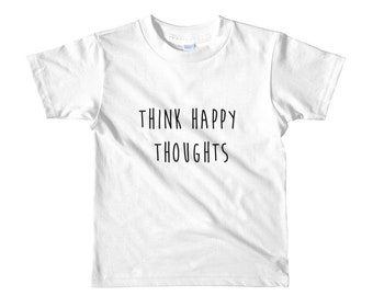 Happy thoughts kids shirt