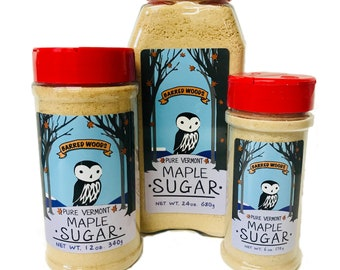 Maple Sugar - Made From Our Own 100% Pure Vermont Maple Syrup