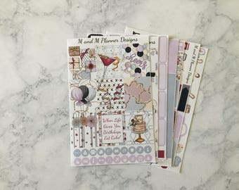Erin Condren Weekly Sticker Kit - Celebrate
