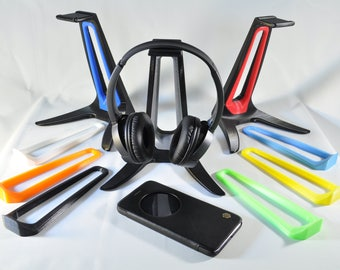 Colourful 3D Printed Headphone Stand