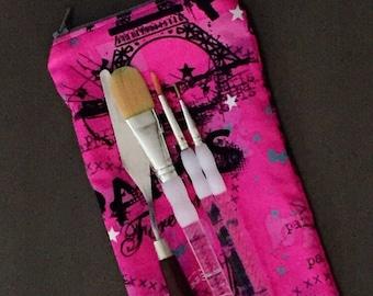 Top Load Paris Brush Pencil Marker Case