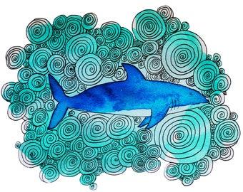 Spiral Shark