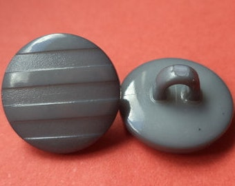 11 small buttons grey 11mm (4880) button