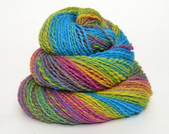 Handspun Lace Yarn -  Hand Spun Merino Yarn - Lace Art Yarn- 1.75oz, 236yd, 19WPI