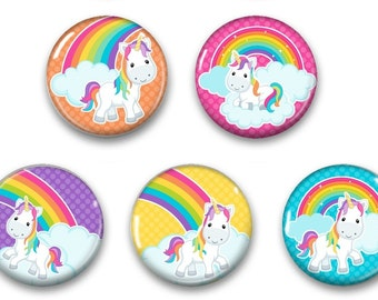 Unicorn magnets, Unicorn decor, unicorn Decor Magnet, unicorn locker magnet, Fridge Magnets, locker magnets, unicorns