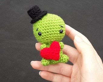 Little Dinosaur Amigurumi PDF PATTERN ONLY (English)