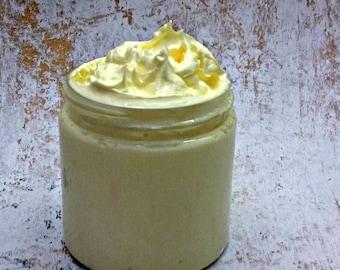Honey TYPE Handmade Whipped Soap, Fluffy Cream Soap, Soap In A Jar, 4 Oz.