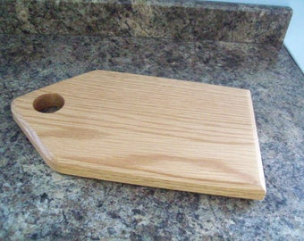 Small Solid Oak Wooden Reversible Cheese Board
