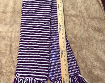 Beautiful hand knit scarf