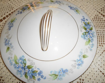 Noritake Ramona #5203 Lid for Round Covered Vegetable Bowl Made in Japan Circa 1951 - 1957