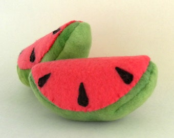 Hand-made Watermelon Catnip Filled Cat Toy