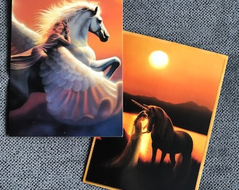 Mystical Horse Greeting Cards